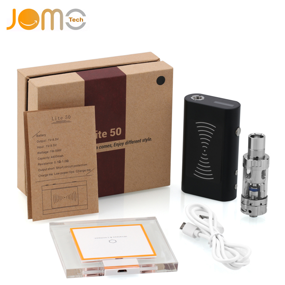 Genuine JomoTech Vape Lite 50W TC Mod 1-50W TC 200F-400F Vape Mod Electronic Cigarette Kit 4400mAh E-cigarette Vaporizer Jomo-38 цена