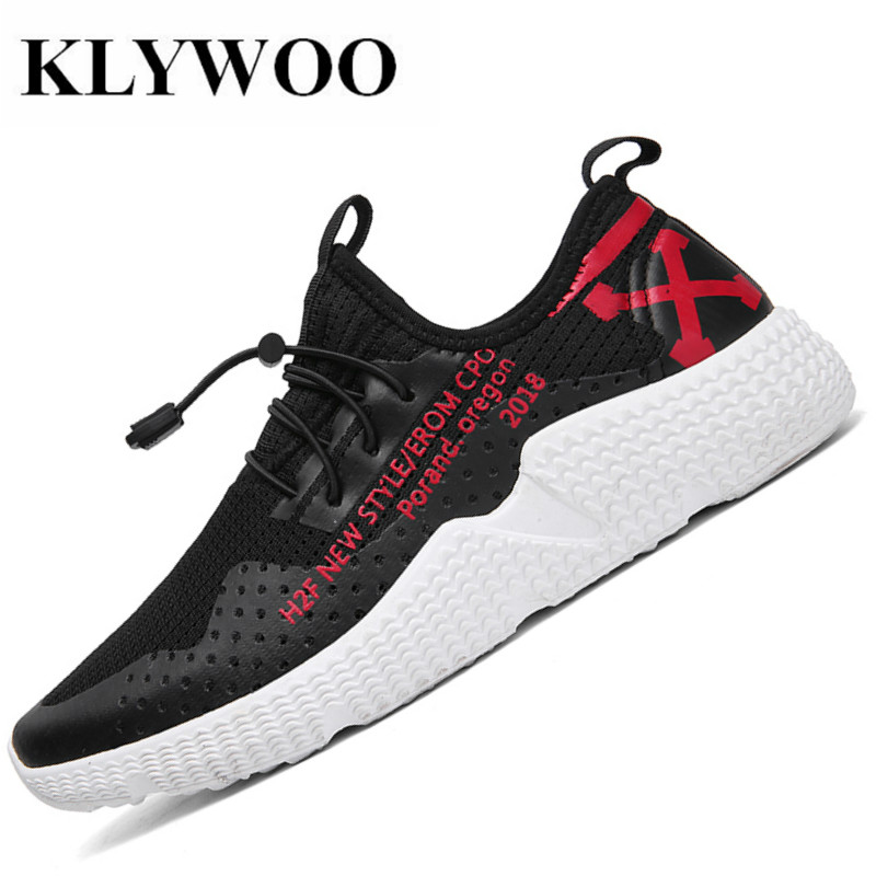 KLYWOO Hot Sale Fashion Casual Shoes men High Quality Fashion Comfortable Brand Breathable Men Shoes Casual black Sneaker Men