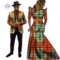 Африканские платья для Для женщин в африканском стиле платье Базен Riche Для женщин макси платье Для мужчин s Блейзер Slim Fit Blazer Для мужчин Повсе