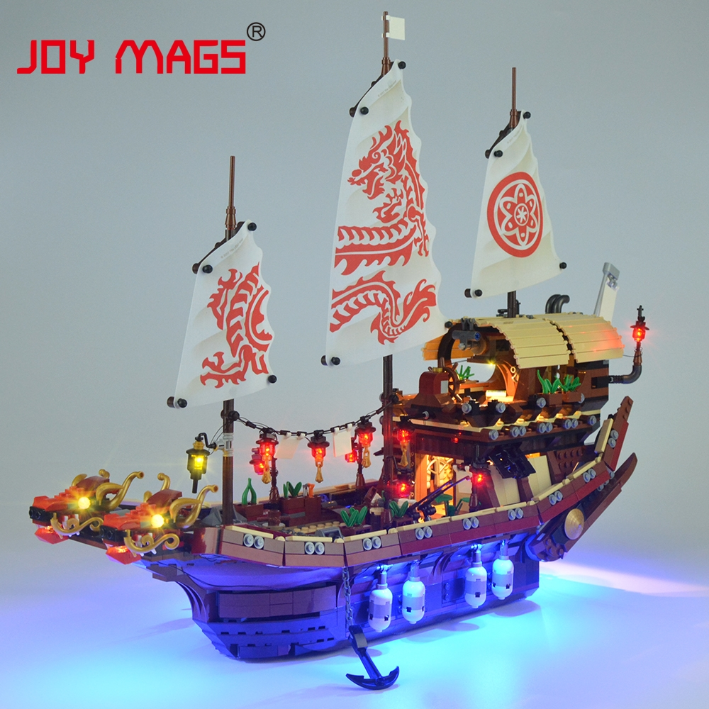 JOY MAGS Led Light Kit Only Light Set For Ninja Temple Of Airjitzu Light Set Compatible