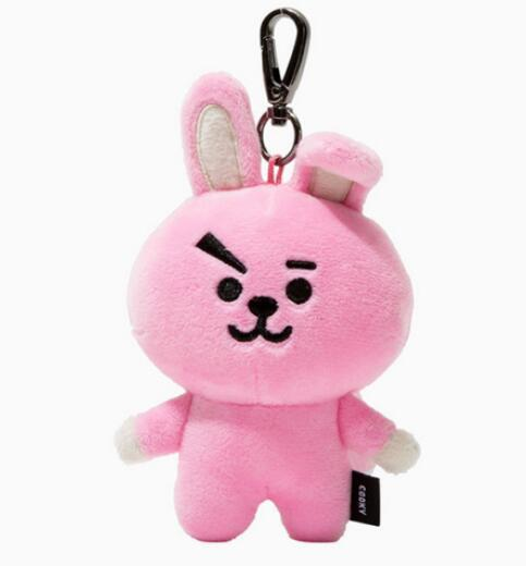 Брелок плюшевая игрушка к-поп BTS в ассортименте 1