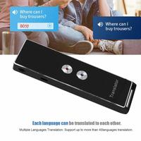 Portable Translator for Travel Study Work 40+ Languages Smart Instant Real Time Voice Intelligent Multi Languages Translator
