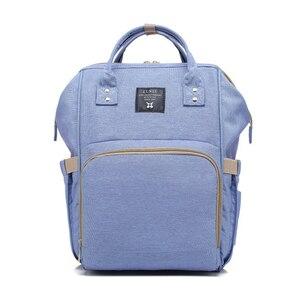 Image 2 - Sac à langer de grande capacité pour maman, sac à dos de voyage pour bébé, pour bébé, rangement pour biberons, T0567
