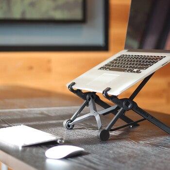 Nexstand K2 ноутбук Стенд складной портативный ноутбук Регулируемая lapdesk офисные lapdesk Эргономичный Подставка для ноутбука
