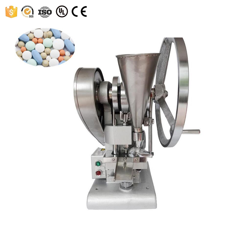 Free shipping 4500-6000pcs/h automatic tablet press pill making tablet press machine on sale image