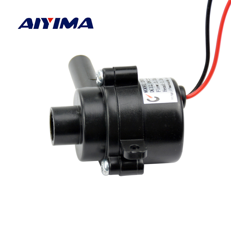 Aiyima 1pcs Water Pumps Micro DC Brushless Pump DC12V 5.4W 3.2L/min Vacuum Suction Pressure Pumpping 3l m 100kpa pressure dc electric mini brushless vacuum pump