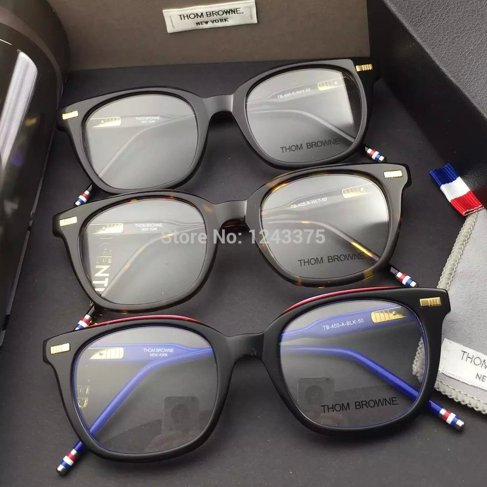 e45c5af4198 Sale THOM BROWNE Eyeglasses Frames glasses New York Brand TB 405 A ...