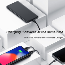 Power bank Wireless Charger ( LCD 8000mAh)