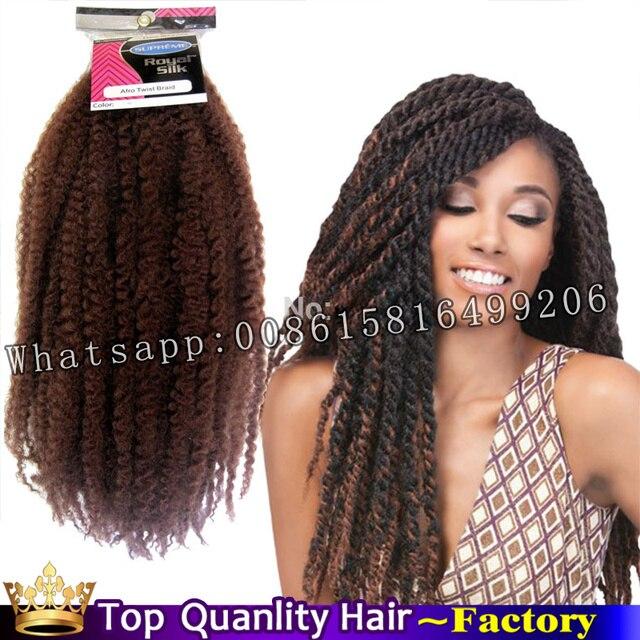 Kanekalon Crochet Dreadlocks Braids Yaki Curly Extensions Marley Braiding Hair Havana Mambo Twist Tissage Synthetic Dreadlock