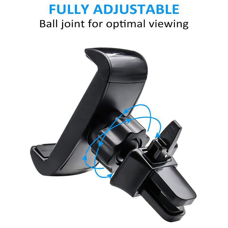 Universal 360 Rotate Car Air Vent Phone Cradle Mount For All 3 5 6 Inches Cellphones Including But Not Limited Iphone Se 6S 7 in Phone Holders Stands from Cellphones Telecommunications