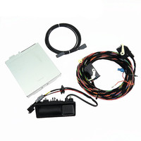 SCJYRXS 1Set 12V RGB Rear View Camera + Track Record Box + Cable Harness Fit RCD510 For Tiguan 5N0 907 411 A 5ND 827 566 C