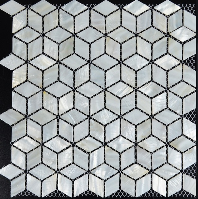 aliexpress.com : weiß mosaik fliesen backsplash raute küche ... - Weisse Kche Mit Mosaikfliesen