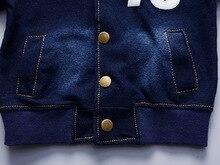 Children Boys Clothing Sets spring autumn Sport Suit Kids Clothing Set Little boys Clothes Denim Jeans Coat+Pants
