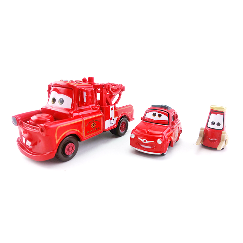 Tomica Takara Tomy Disney CARS 2 RUIGI Fire Engine Car Rescue Mini Diecast Toy