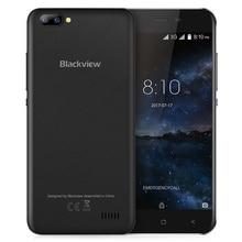 Blackview A7 3g Смартфон Android 7,0 5,0 дюймов Оригинальный ips Экран MTK6580A 1. 3g Гц 4 ядра 1 ГБ Оперативная память 8 ГБ Встроенная память 0.3MP мобильного телефона