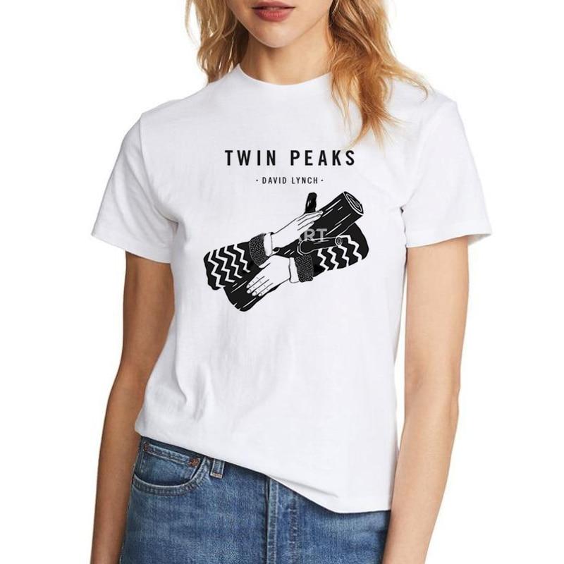 Twin Peaks Log Lady Unisex T-Shirt David Lynch Dark Colours Available
