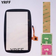 5 GPS Dokunmatik Ekran Cam TomTom GO500 GO5000 GO 500 GO 5000 dokunmatik ekran digitizer Panel Cam Sensörleri Tamir 3 M Tutkal Mendil