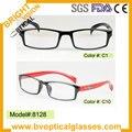8128 quadrados prescrição frame ótico eyewear óculos de miopia hipermetropia óculos óculos