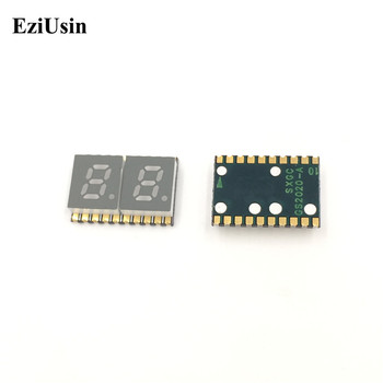 цена на 0.2inch 7 Segment Red Led Display 2 Digits 2020 SMD LED Module Common cathode or Common anode