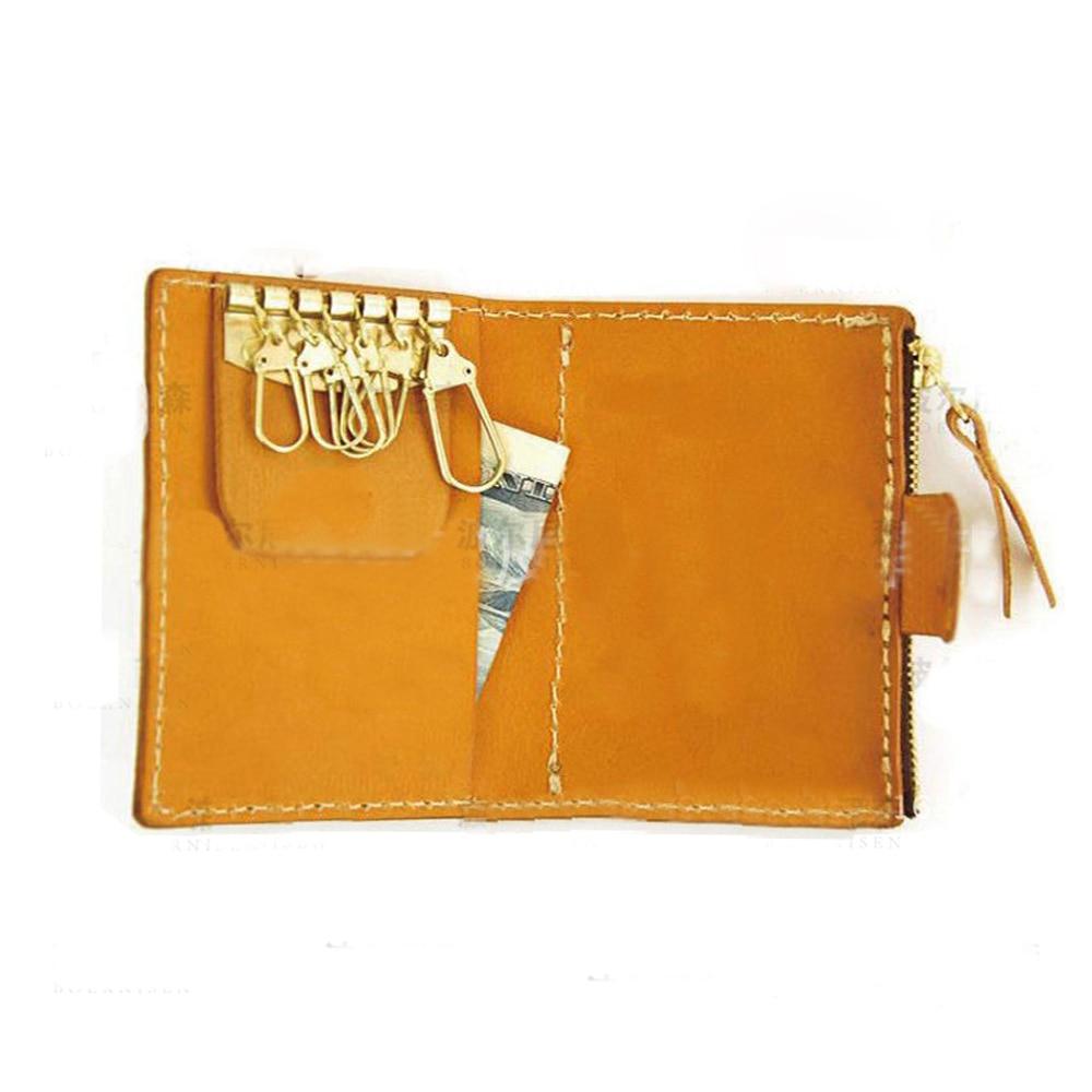 Artisanat cuir bricolage porte-clés portefeuille porte-carte couteau moule découpe meurt main poinçon outil ensemble modèle 6 pcs/lot