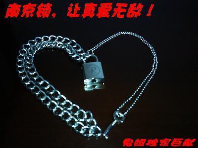 Sid Vicious Lock Necklace
