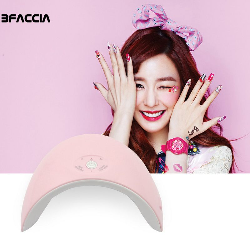 Beauty & Health Bfaccia 36w Uv Led Lamp Nail Dryer Usb For All Types Gel 12 Leds Uv Lamp Nail Machine Curing 60s/90s Timer Connector Manicure Nails Art & Tools