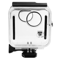Underwater 45M Waterproof Case Housing Diving Protective Shell Cover For Gopro Fusion 360 Water Sports Action Camera