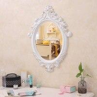 European bathroom mirror wall hanging net red makeup =bedroom vanity beauty salon bedside mirror lo1213545