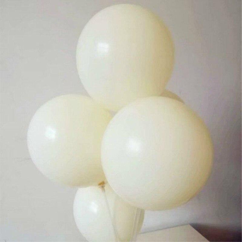Marfim branco balão 30 pcs/lot12 polegada 3.2g grosso rodada ballons balões fontes do casamento decorações da festa de aniversário adulto crianças brinquedo