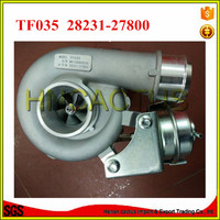 Diesel turbocharger TF035 49135 07100 turbo 28231 27800 para Hyundai Santa Fe 2.2 CRDi motor turbo D4EB|charger charger|charger for|charger turbo -