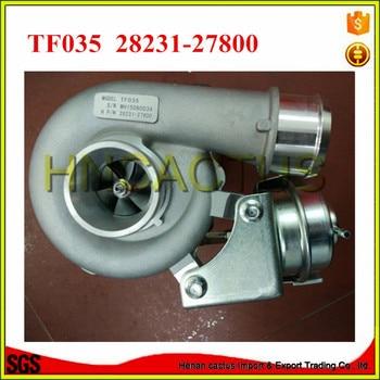 Diesel turbocharger TF035 49135-07100 turbo charger 28231-27800 untuk Hyundai Santa Fe 2.2 CRDi turbo mesin D4EB