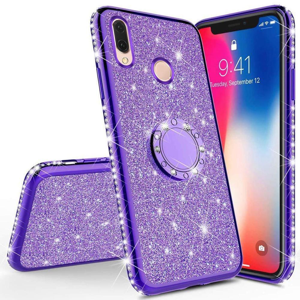 Bling Diamond TPU Glitter Case For Xiaomi Mi A2 Lite 6X 8 9 SE Lite Max 3 CC9 e Cover For Redmi 5 Plus 6 6A 7A Note 5 7 K20 Pro