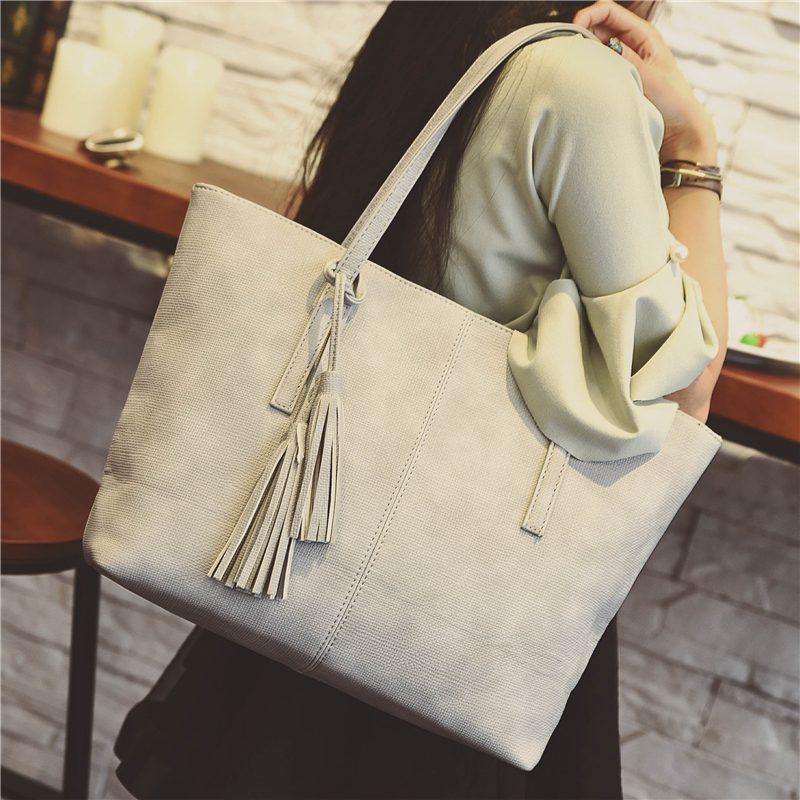 ФОТО Large bags handbags 2016 spring and summer fashion simple   package leisure wild shoulder bag shopping bags