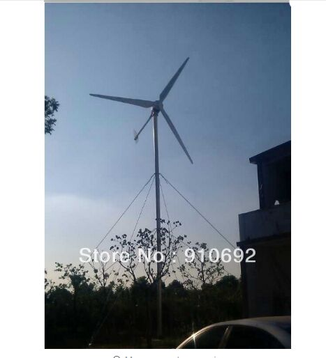 US $14350 0 |10kw 380v/280v AC home use wind turbine /wind generator/ free  shipping high efficient-in Alternative Energy Generators from Home