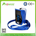 Promise Blue oximeter digital OLED display fingertip pulse oximeter portable pulsioximetros oximetro de dedo with case
