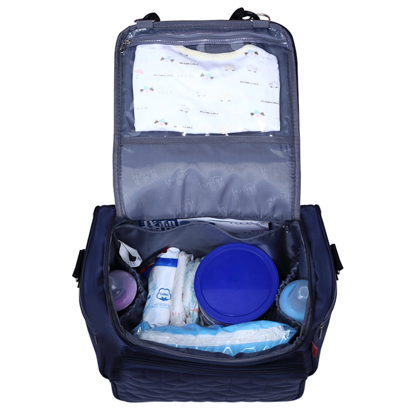 LCLL-insular Multifunction Baby Diaper Bag Nappy Changing Backpack