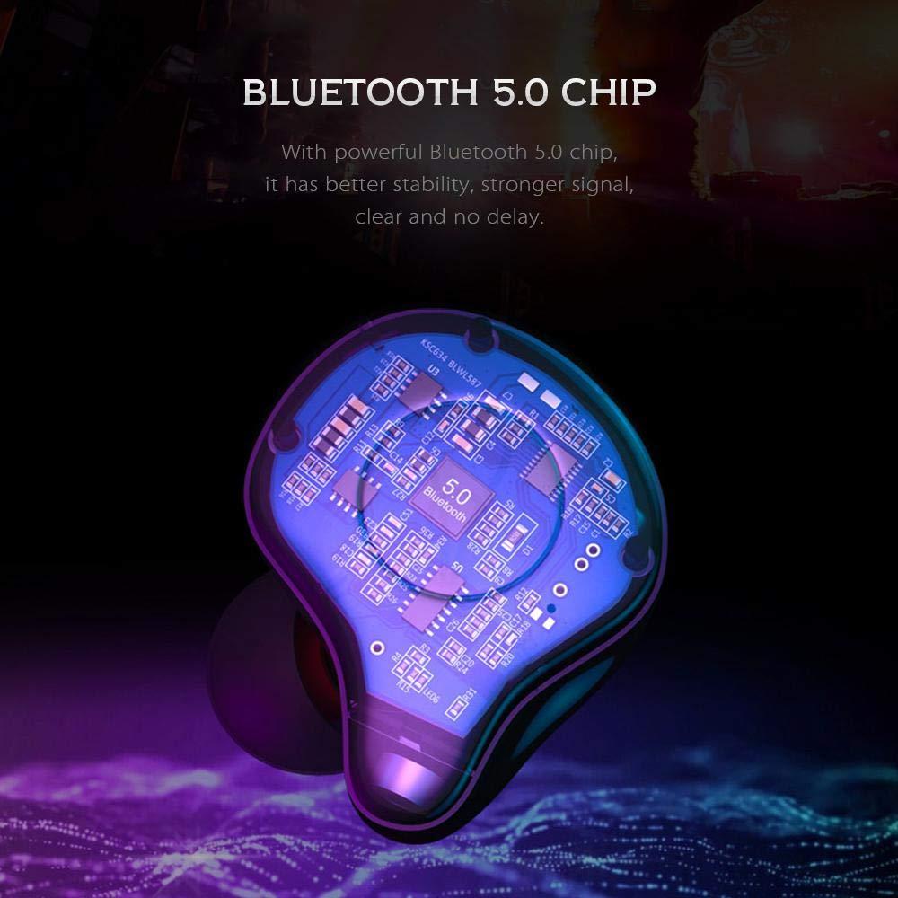 Mise à niveau TWS 5.0 Bluetooth écouteurs sans fil écouteurs Sport course Hifi casque mains libres 3D stéréo son écouteurs pour téléphone - 4
