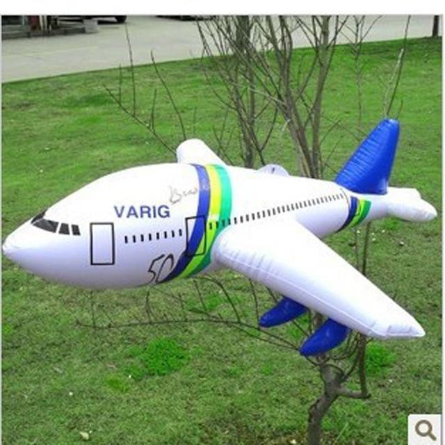 5pcs/lot Free Shipping Inflatable Toys Fashion Big Inflatable Aircraft  Inflatable Balloon Plane Children Toys