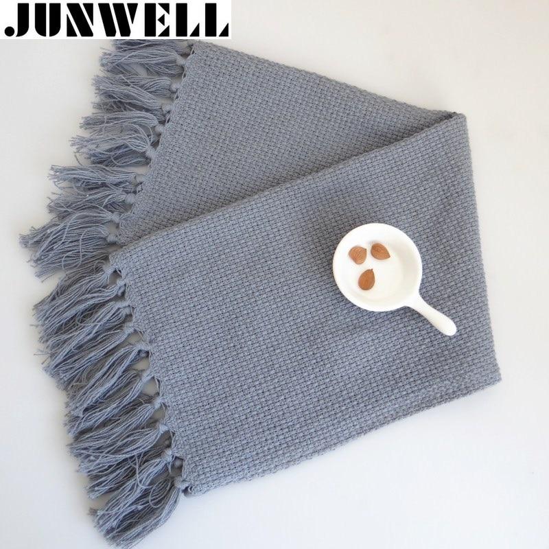 2kom Set francuskog stila resice obrub pamuk pleteni stol Placemat - Tekstil za kućanstvo - Foto 1
