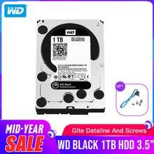 WD Black 1 ТБ 3,5 дюйма HDD производительность жесткий диск настольного компьютера-7200 об/мин SATA 6 ГБ/сек. 64 Мб кэш-WD1003FZEX