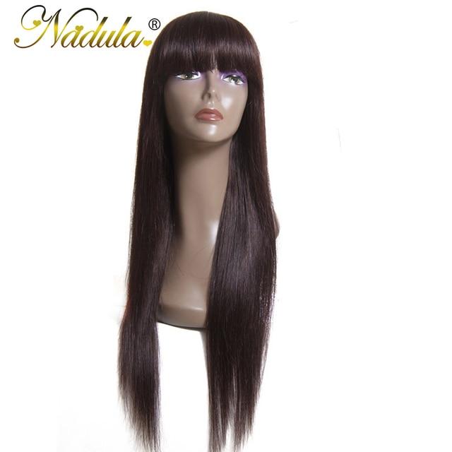 Nadula Cheveux Perruque 100% Cheveux Humains