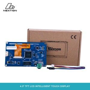 """Image 2 - Nextion NX4827T043 écran tactile Intelligent TFT LCD 4.3 """"meilleure Solution pour remplacer le Tube LCD et LED Nixie traditionnel"""