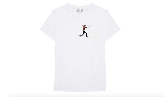 4c923956791f TRAVIS SCOTT VIRGIL ABLOH ASTROWORLD T-SHIRT SIZE MEDIUM NEW Cool Casual  pride t shirt men Unisex Fashion tshirt free shipping