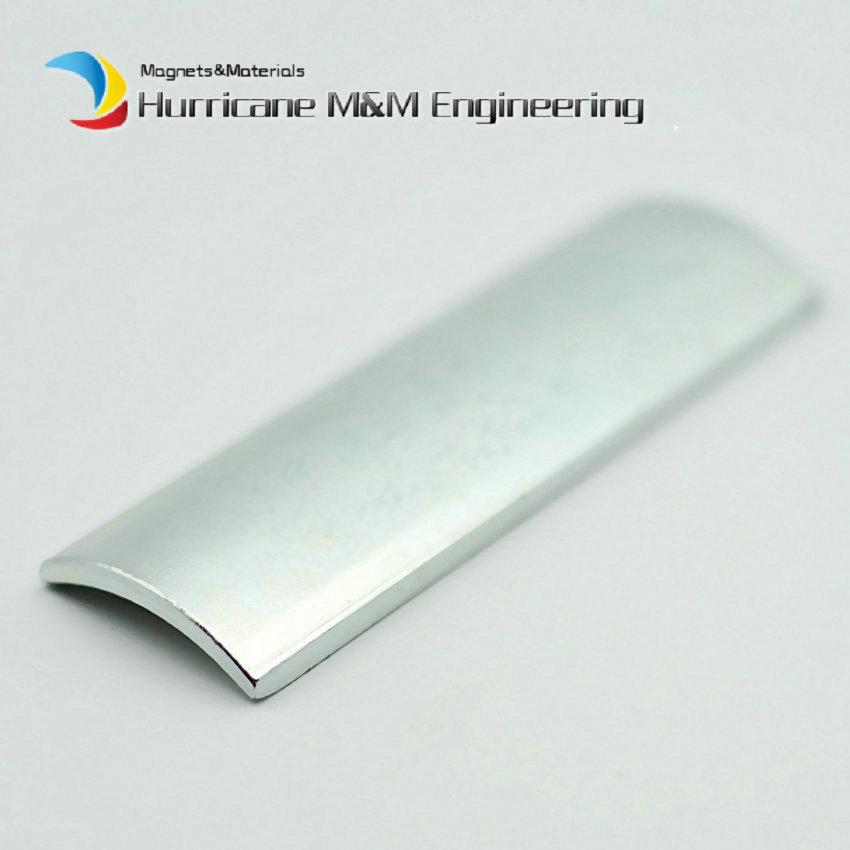 N45H NdFeB Arc Segment OR23.2xIR20xL80xW27.7 mm Moto Magnet for Generators Wind Turbine Neodymium Brushless Rotor Magnet