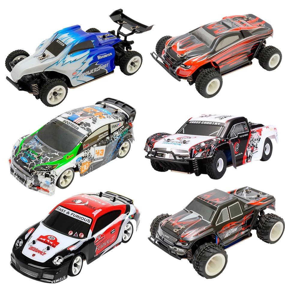 wltoys 1/28 RTD 4WD Off-road Mini Drift Monster Buggy RC Car Model High Speed 2.4G Radio Control Truck Hobby& Toys For Children