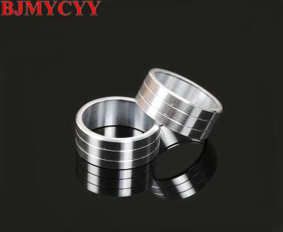 BJMYCYY 2PCS/SET Automotive sound knob metal decorating ring For KIA Sportage KX5 2016-2017 Car styling вилка ring automotive rba10