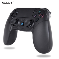 XGODY Bluetooth Wireless Gamepad For PS4 PS3 Controller Joystick For Sony Playstation Dualshock 3 4 Window PC Game Controller