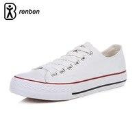 RenBen Flats Casual Schoenen Vrouwen Mode Canvas Lichtgewicht Loafers Vrouwelijke Schoenen Vrouw Duurzaam Oxford Schoenen chaussures femme