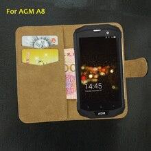 6 цветов супер! AGM A8 чехол модный кожаный Сверхтонкий Эксклюзивный Уникальный защитный специальный чехол для телефона+ отслеживание посылки