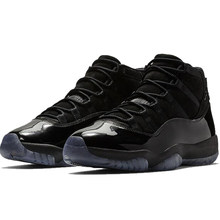a3c0724ad1b Jordan 11 Basketball Shoes Winter Sneaker Cap And Gown all black Winter  Shoes Lace-up Warm Outdoor Sport Shoes New Arrival